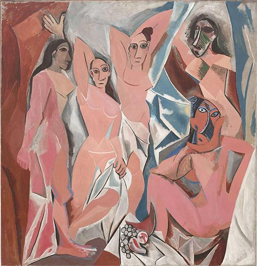 Les Demoiselles d'Avignon Image