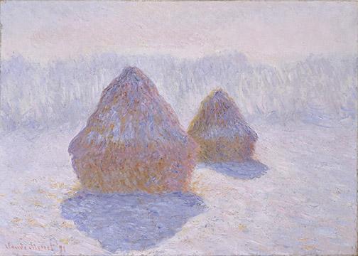 Monet Haystack Image