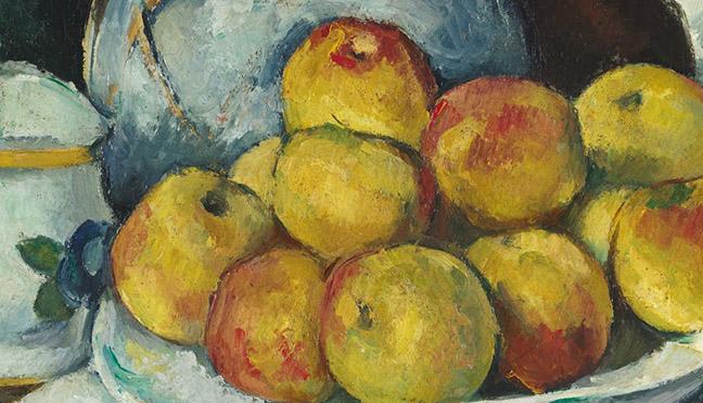 Cezanne Detail Image
