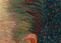 Van Gogh Hair Detail