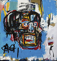 Basquiat Painting