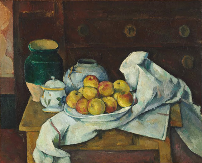 Cézanne Still Life Image