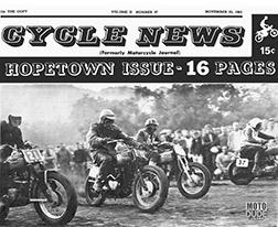 Hope Town Race Flier